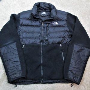 THE NORTH FACE Black FLEECE Nylon PUFFER Jacket  M